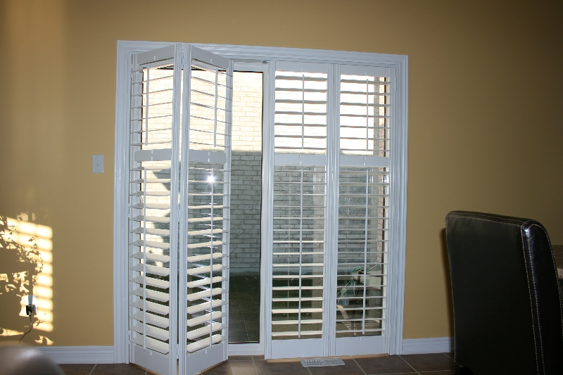 Wood vinyl shutters for Wood doors and shutters